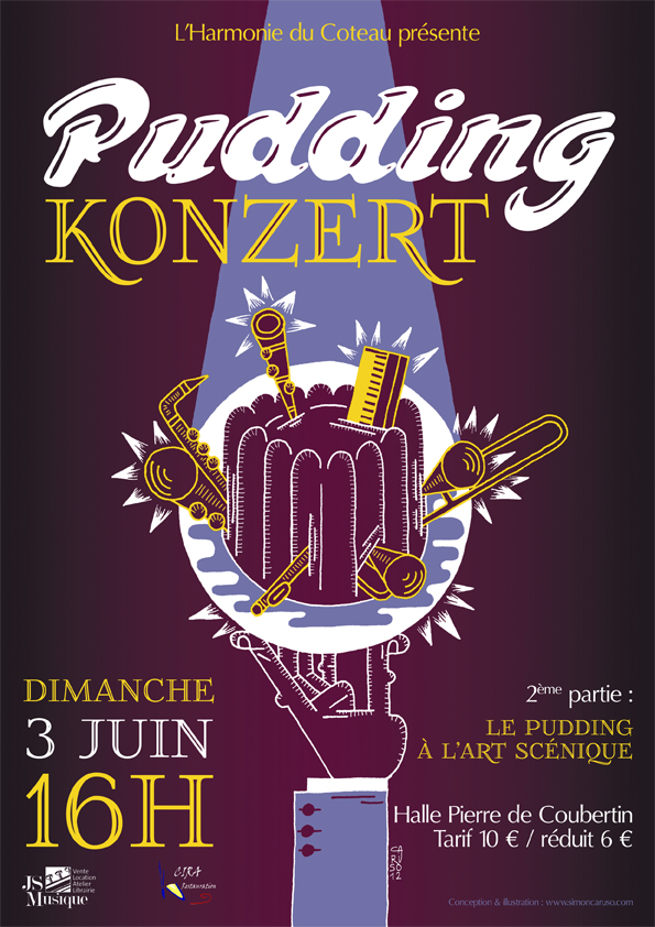 PUDDING-konzert