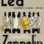 Concert du 18 avril 2014 : HOMMAGE À LED ZEPPELIN (avec Zepset)