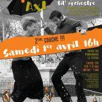 Concert du 1er avril 2017 : TIT' NASSELS